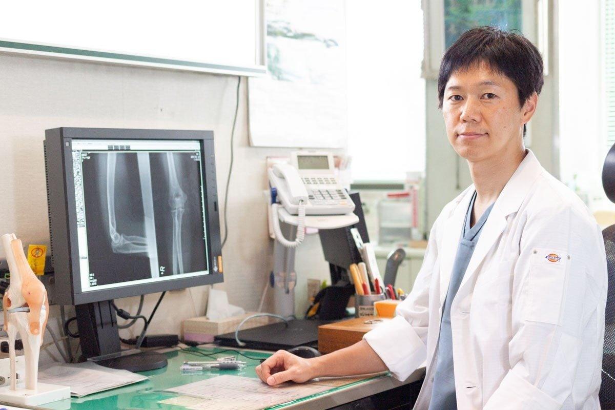 森整形外科 副院長 松村成毅医師の写真