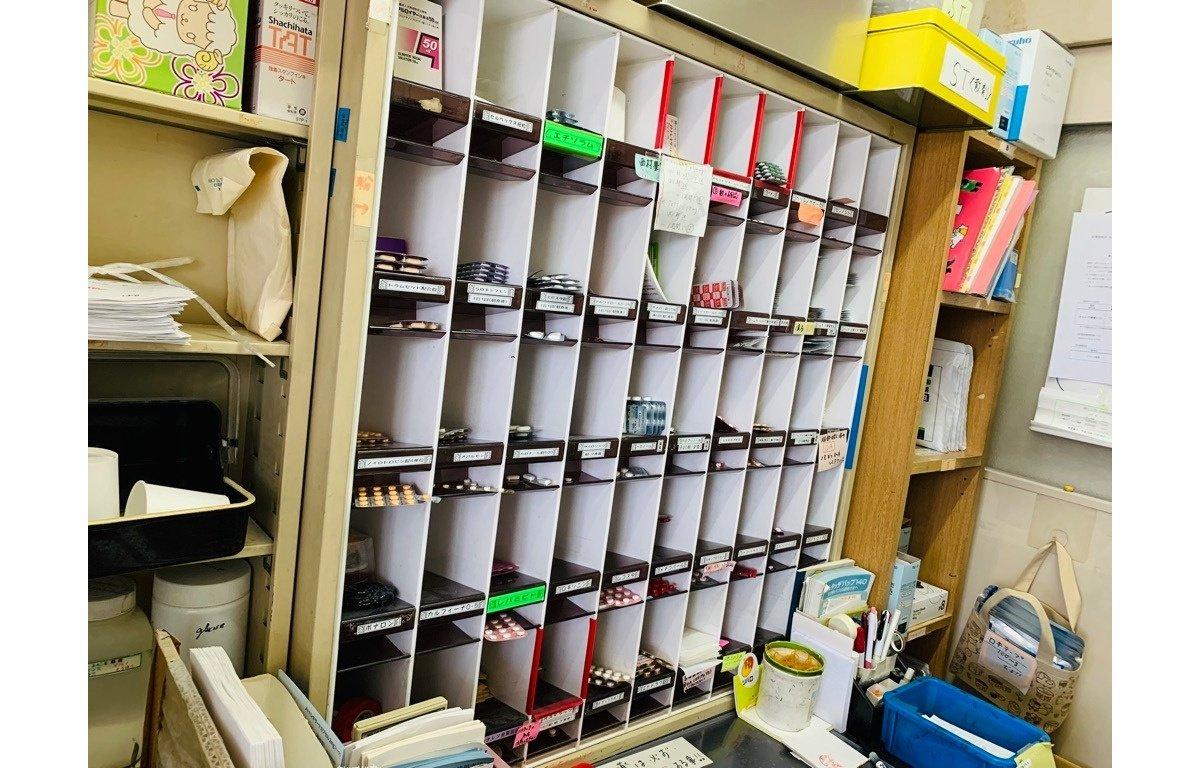 薬品庫の画像