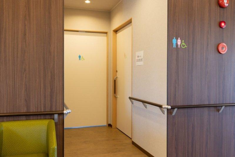 愛知県一宮市の森整形外科のトイレ