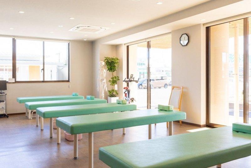 愛知県一宮市の森整形外科のリハビリ室